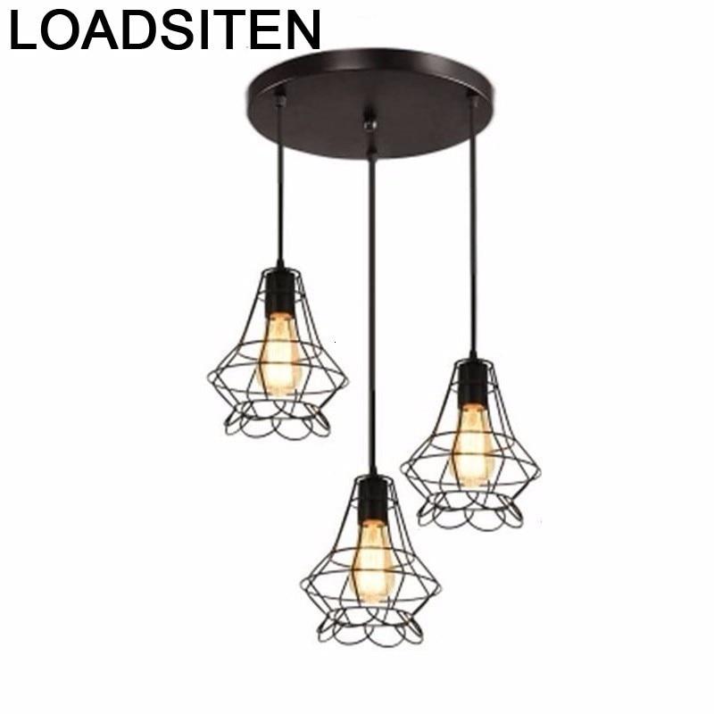Lampade Chandelier Moderne Design Kitchen Hang Vintage Light