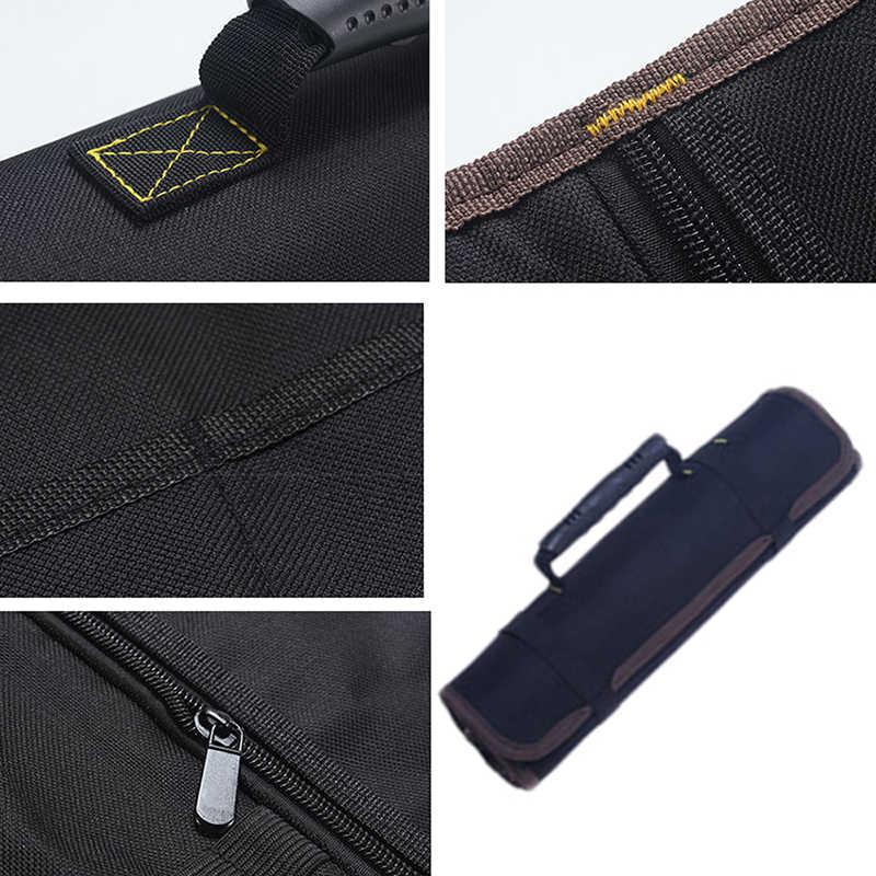 リールローリングツールバッグポーチプロフェッショナル電気技術オーガナイザー多目的車の修理キットバッグ