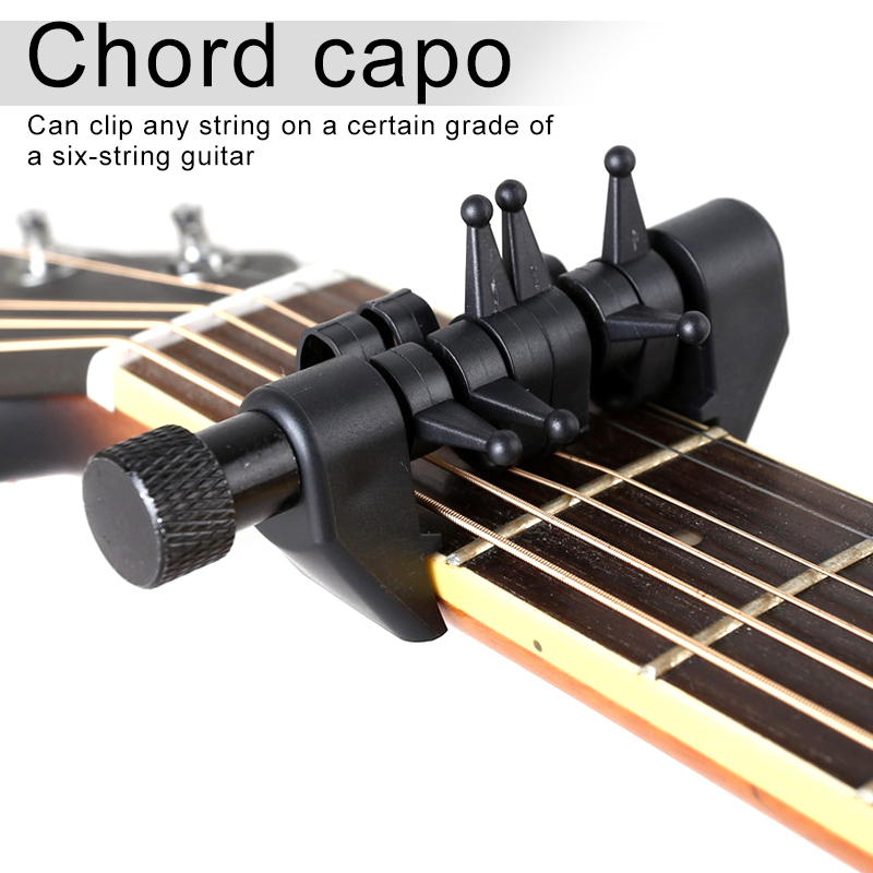 New Multifunction Capo Open Tuning Spider Chords Portable For Acoustic Guitar Strings XD88