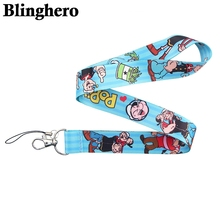 CA620 Wholesale 10pcs/lot Lanyard Neck Strap for key ID Card Cellphone Straps Badge Holder DIY Hanging Rope Neckband