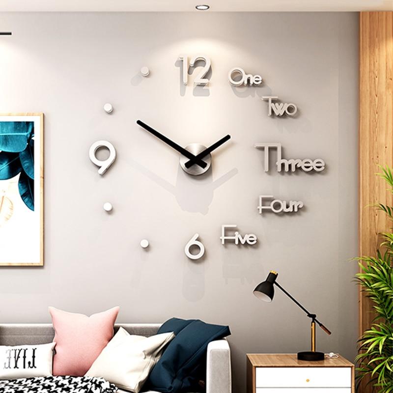 Fowecelt-Acrylic-3D-Large-Wall-Clock-Sticker-DIY-Aesthetic-Room-Decor-Modern-Living-Room-Decoration-