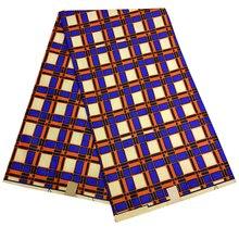 Африканская Анкара ткань воск высокого качества красочные нигерийские Кванзаа цветы печати ткань