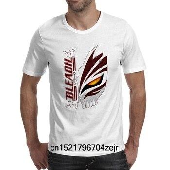 Camiseta a la Moda creativa Pop Ichigo marchigo Di para hombre, camiseta de Rock para mujer, novedad de Bleach Maschera Kurosaki