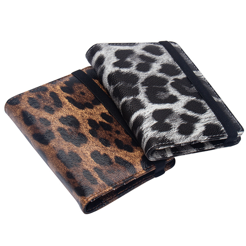Zoukane 2019 Leopard Panther Elastic Strap Passport Cover Leather Holder With Card Slots Travel Accessories ZSPC08
