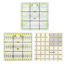 15*15CM Transparent Acryl Material Platz Schneiden Lineal DIY Nähen Patchwork Werkzeuge Nähen Zubehör