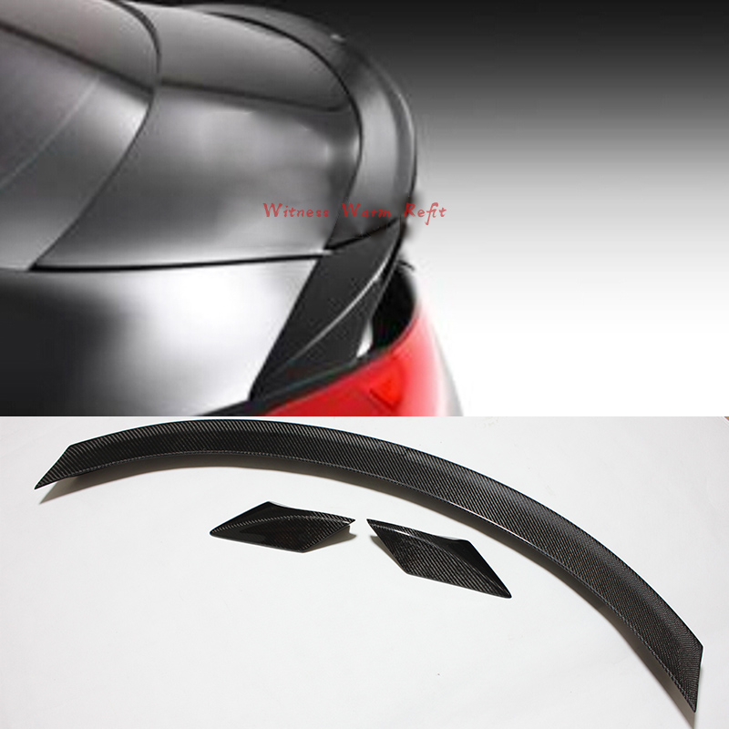 For Mercedes-Benz CLA W117 CLA180 CLA200 <font><b>CLA250</b></font> Carbon Fiber/FRP Unpainted Rear Wing <font><b>Spoiler</b></font> Auto Accessories CLA45 image