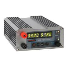 Mini interruptor Digital ajustable fuente de alimentación de cc, 2019 CPS 3205 3205II, con función de bloqueo, 0.001A, 0,01 V, 32V, 30V, 5A