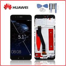 HUAWEI Original P10 LCD Display Touchscreen Digitizer Für Huawei P10 Display mit Rahmen Ersatz VTR L09 VTR L10 VTR L29