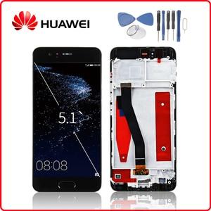 Image 1 - HUAWEI Originale P10 Display LCD di Tocco Digitale Dello Schermo Per Huawei P10 Display con Telaio di Ricambio VTR L09 VTR L10 VTR L29