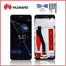 Huawei оригинальный P10 ЖК дисплей с сенсорным экраном дигитайзер для huawei P10 дисплей с рамкой Замена VTR L09 VTR L10 VTR L29