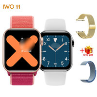 T200 IWO 11 Smart Watch Men Women 1.4inch Screen PPG Heart Rate Monitor Fashion Activity Tracker VS IWO10 IWO 11 For IOS Android