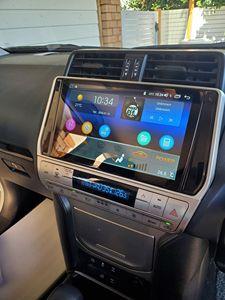Image 2 - Android 10 Car Radio Stereo Head Unit Multimedia Carplay For Toyota Land Cruiser Prado 150 2018 2019 Support Canbus OEM Camera