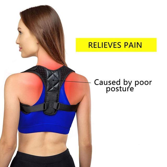 Orthèse réglable soutien ceinture dos Posture correcteur clavicule dos épaule lombaire Posture Correction 1