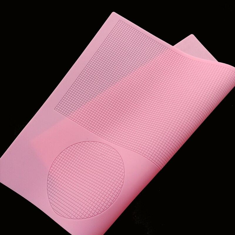 minsunbak New Grid Lace Silicone Mould  DIY Fondant Cake Decoration Tools  Lace Mat|Cake Molds| |  - title=