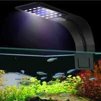 Super Bright LED Aquarium Lights LED Plants Grow Light 5W/10W/15W Aquatic Freshwater Lamps Waterproof Clip on Lamp For Fish Tank