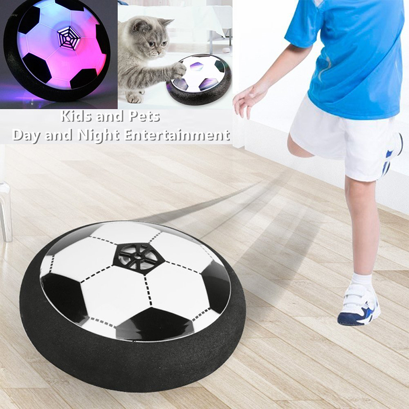 Children's Toy Soccer Ball Air Electric Hover Colorful LED Lights Fun Floating Foam Football Parent-child Home Training Toys
