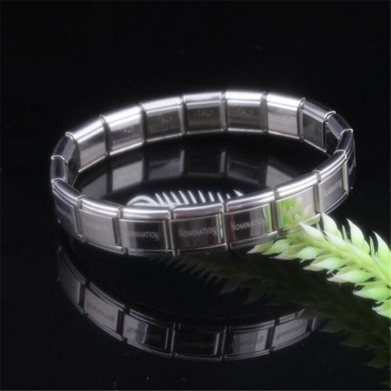 2019 New Stainless Steel Charm Bracelets For Women men Fashion Jewelry body Bracelet & Bangle wholesale price men bracelet