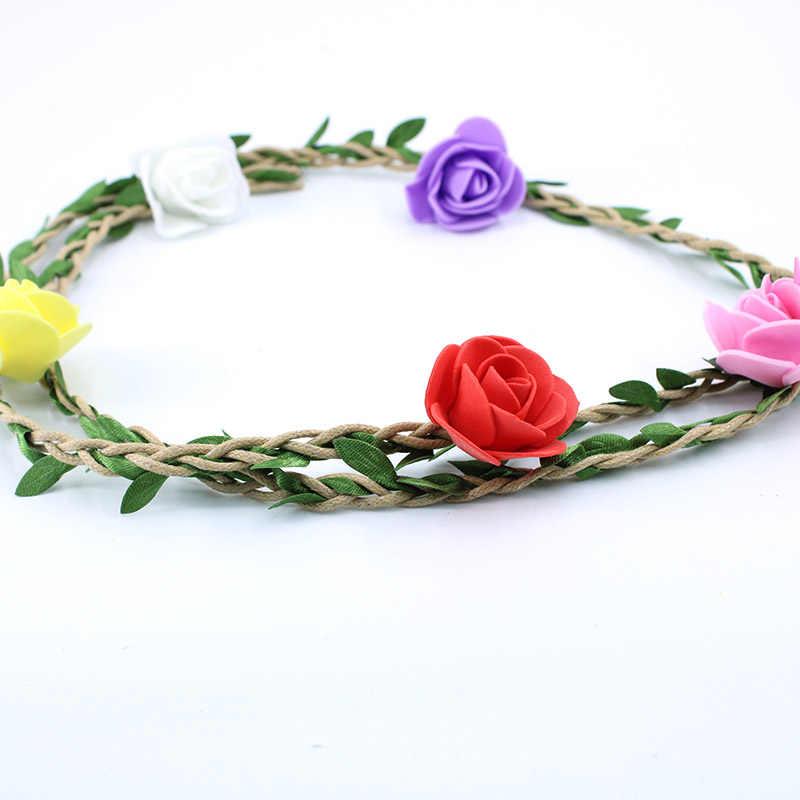 100 ซม./ชุดประดิษฐ์ดอกไม้ VINE Ivy หวาย Garland สีเขียวสำหรับครอบครัวงานแต่งงานตกแต่งเจ้าสาวอุปกรณ์เสริม DIY ปลอม flor