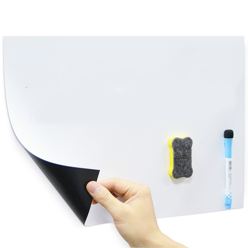 A3 Size Refrigerator Sticker School Home Office Message Writing Soft Whiteboard Magnetic Whiteboard
