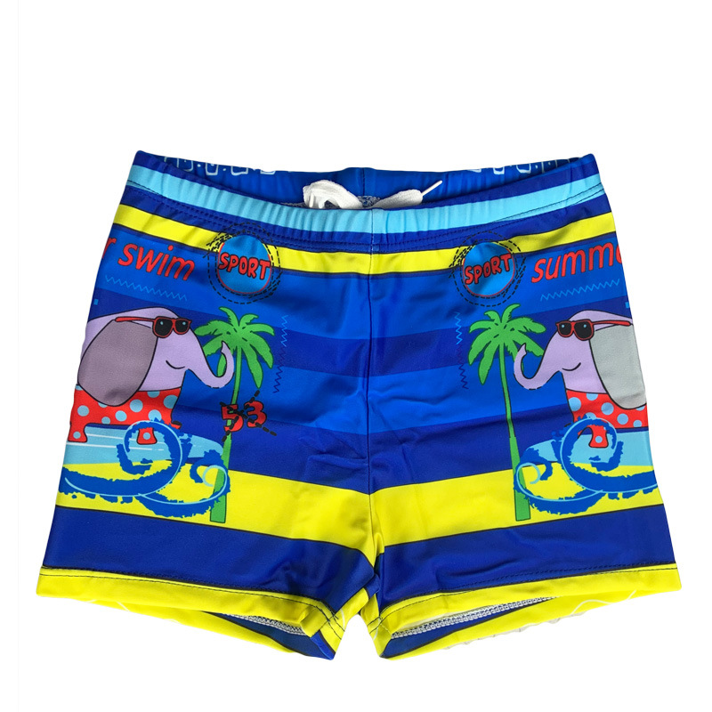 2020 New Style Baby Boys' Swimming Shorts BOY'S Learn Swimming Trunks Cute Hot Springs CHILDREN'S Swimming Trunks Boys' Swimming