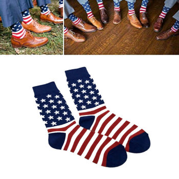 Stars & Stripes USA Sock  1
