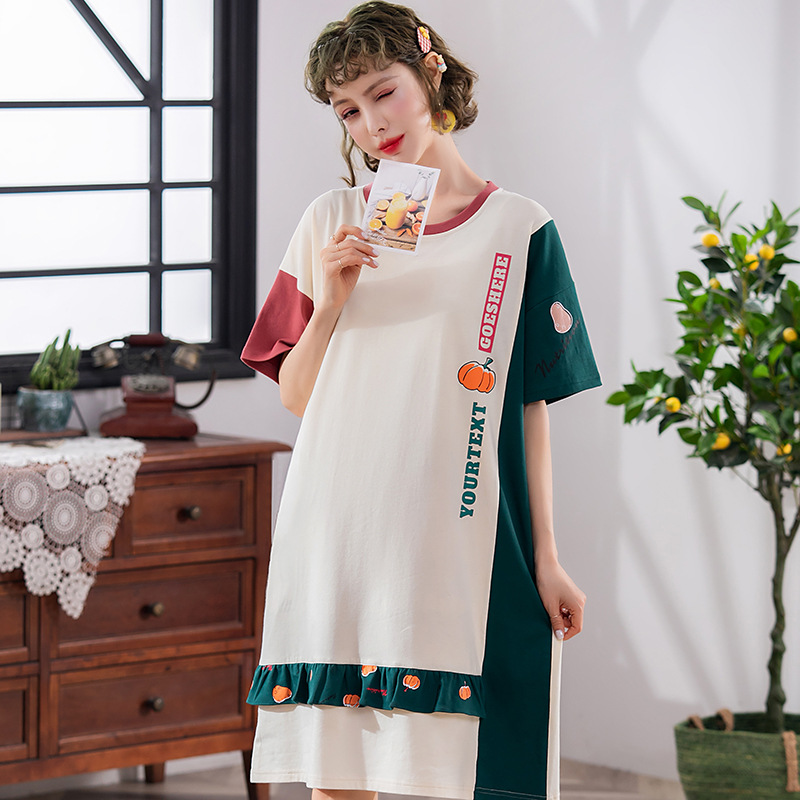 Peach Scent New Products Korean-style Casual Autumn And Winter Thin Long Sleeve WOMEN'S Jumpsuit-Outer Wear Home Nightgown
