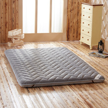 Mattress-Pad Topper Bamboo-Fiber VESCOVO for Double-Single-Dormitory