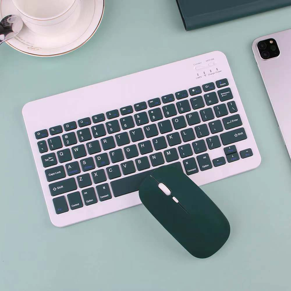 with Bluetooth Mouse iPad 4th-Generation Keyboard-Case A2324 Air-4 For Wireless Mice