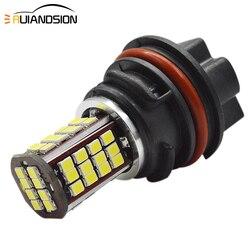 PH11 9014 2835 Светодиодный фонарь для мотоцикла Высокий Низкий биксеноновый луч света 1200лм белый рулевой фонарь для мотоцикла лампа 10-30 в Мото Ак...