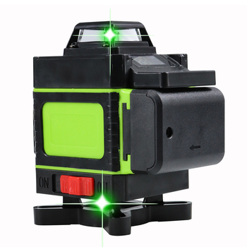 3d 4d green laser level 360 rotary Higher Visibility 16 lines self leveling 12 Indoors Outdoors