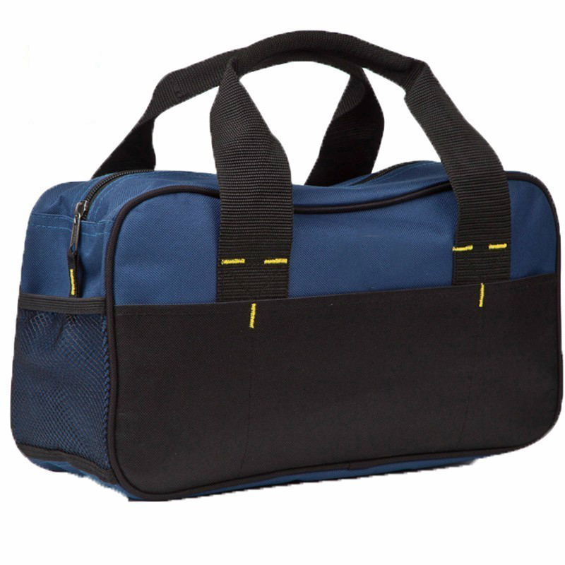 Waterproof Wearable Oxford Blue Portable Handbags Mechanic Tool Tools Bag Durable Wear-resistant High Reliability