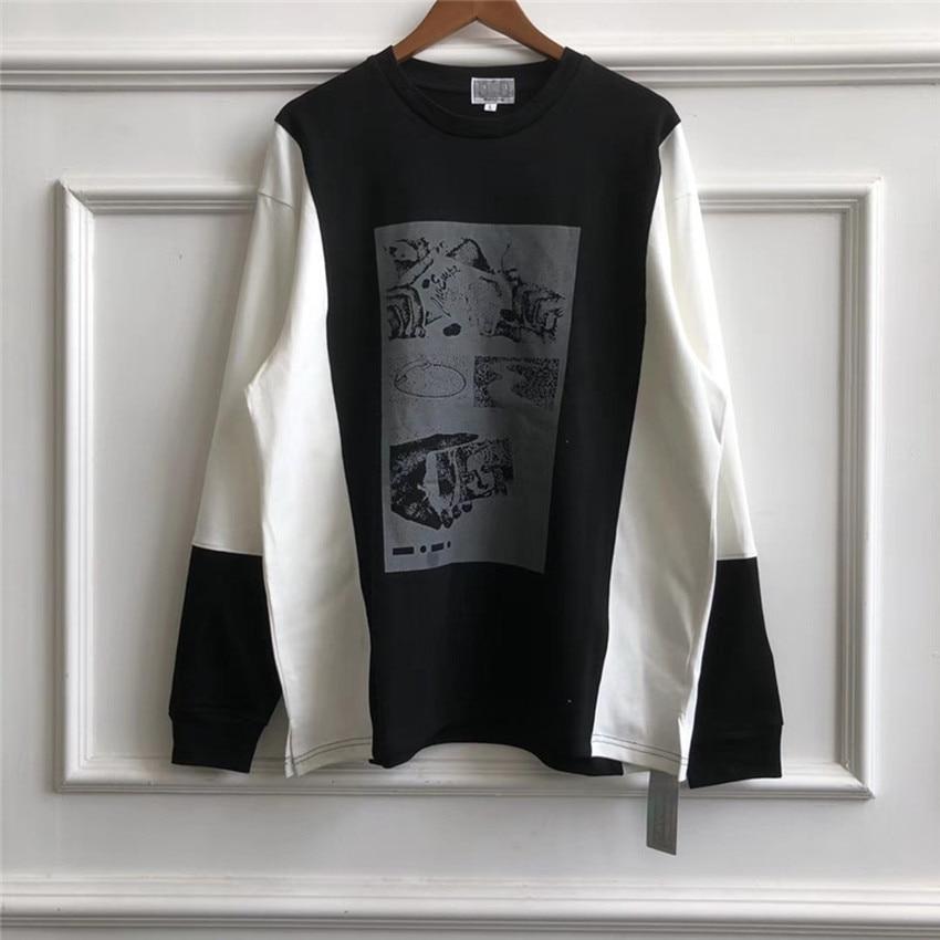 C.E Cav Empt Hoodies Men Women Cotton Reflective Patch Turtleneck Loose Casual Hip Hop Streetwear CAVEMPT Sweatshirt