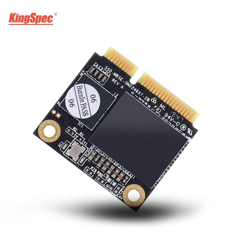 HOT mSATA Half Size KingSpec SSD 512GB 64GB 256GB Internal Hard Disk Drive HDD Hard Disk Solid State Disk for Laptop PC Server image