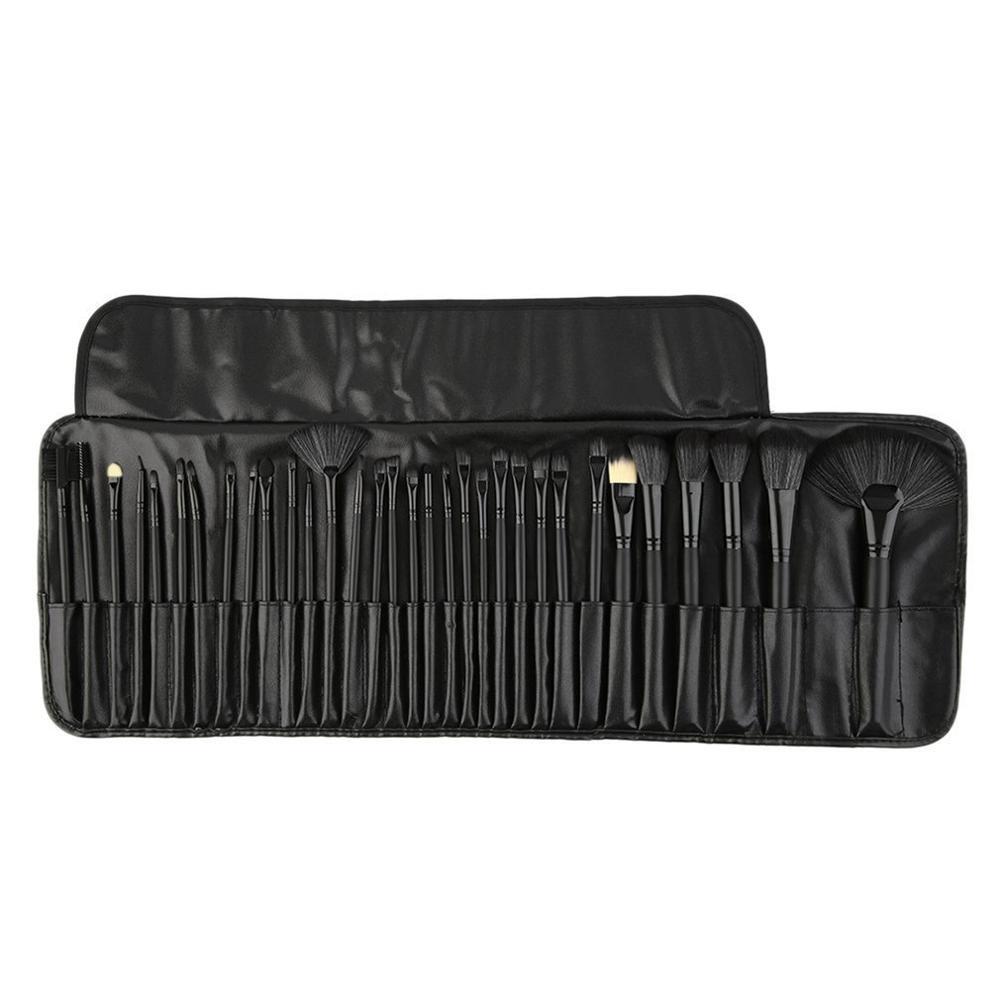 32pcs Professional Brushes Set Pack Foundation Face Blush Brush Set Makeup Tool Beauty Powder Brushes With Cosmetic Bag