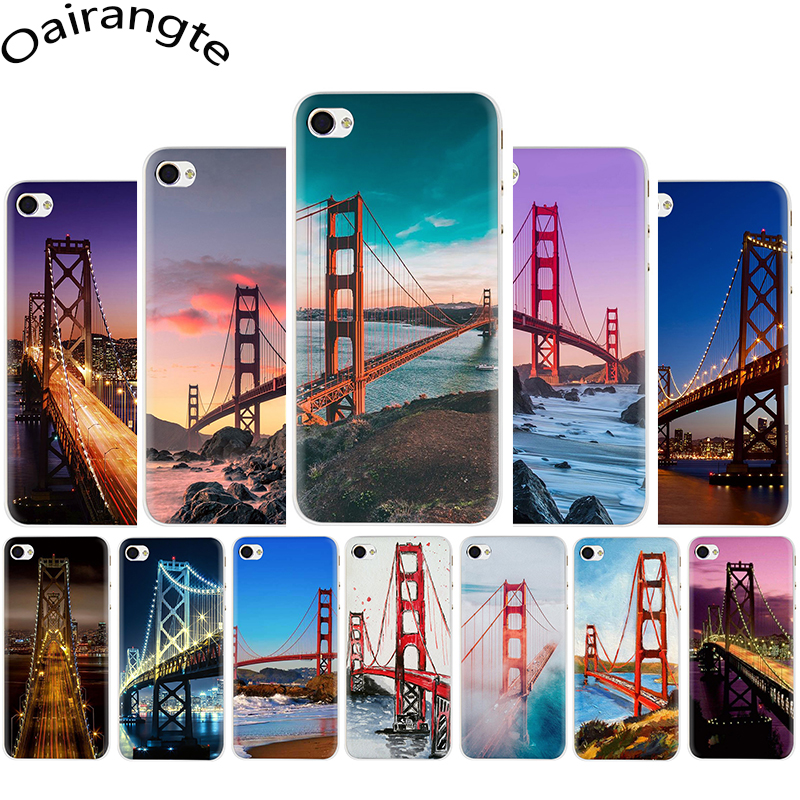 San Francisco Golden Gate Bridge Hard telefon abdeckung fall für <font><b>iphone</b></font> 5 5s 5C SE 2020 6 6s 7 8 plus X XR XS 11 Pro Max image