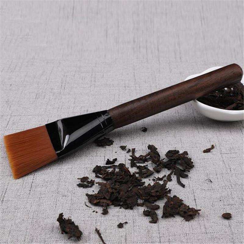 High Grade Natural Wood Tea Brush Kungfu Teapot Tea Tray Cleaning Tools Cleaner Tea Bakelite Special Cleaning Brush Tea Brush|Tea Brushes| |  - title=
