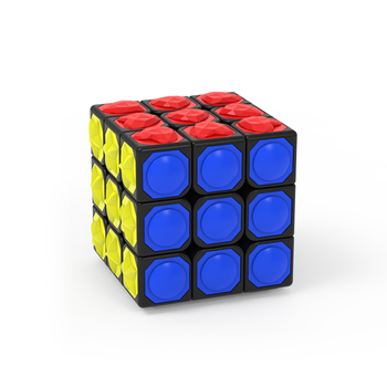 YongJun YJ 3x3x3 Magic Cube Puzzle Game Touching  Stickerless Finger Touch 3x3x3  Cubo Magico Toy For Blind People джемпер magic people magic people mp002xw0r7lt