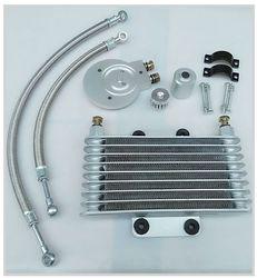Motorrad Ölkühler Öl Motor Kühler SYSTEM VOLLEN SATZ Für LIFAN LF250-B QJIANG QJ250-J YAMAHA XV125 XV250