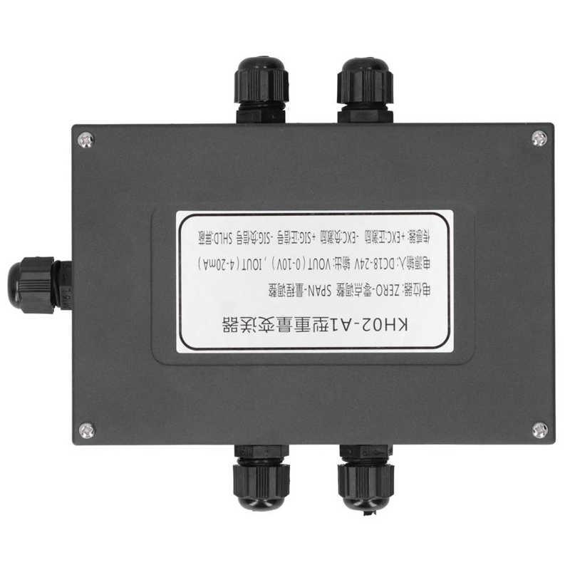 Weighing Sensor Transmitter Load Cell Transmitter Weight Sensor Amplifier Portable 4‑20MA Weighing Transmitter for Conveyor