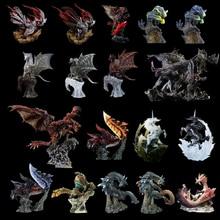 Японская игра Monster Hunter World ледяной Рисунок ПВХ модели горячий Дракон фигурка украшение игрушка Монстры Модель Коллекция