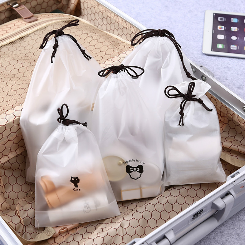Bear Waterproof Cosmetic B Women Travel Makeup Case Zipper Makeup Bath Organizer Storage Toiletry Wash Beauty Kit