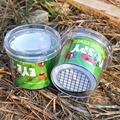 Цилиндрическая лупа для насекомых, маленькое животное, развивающая игрушка в пластиковой бутылке, зритель для наблюдения за насекомыми, Но...