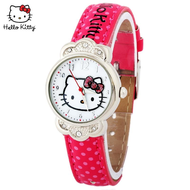 дети% 27 часы маленький летающий слон сериал часы школьники мультфильм дети% 27 лет кварц часы Hello kitty
