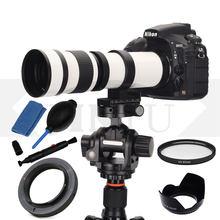 JINTU – Kit de lentilles de Zoom 420-800mm F/8.3 MF, pour Nikon D3000 D3100 D3200 D3300 D3400 D5000 D5100 D5200 D5300 D5500 D5600 D80