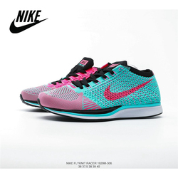 NIKE Wmns Joyride Run Flyknit Racer Barefoot Flying Line Cushioning Sports Running Shoes Original Outdoor Lawn Breathable Women