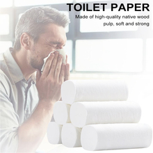 Toilet paper roll paper household toilet paper tissue 10 rolls of white toilet paper kitchen paper sumerian vistas paper