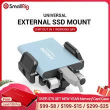 SmallRig soporte SSD soporte Universal para SSD externo como para Samsung T5 SSD, para Angelbird SSD2go PKT , Glyph Atom SSD 2343