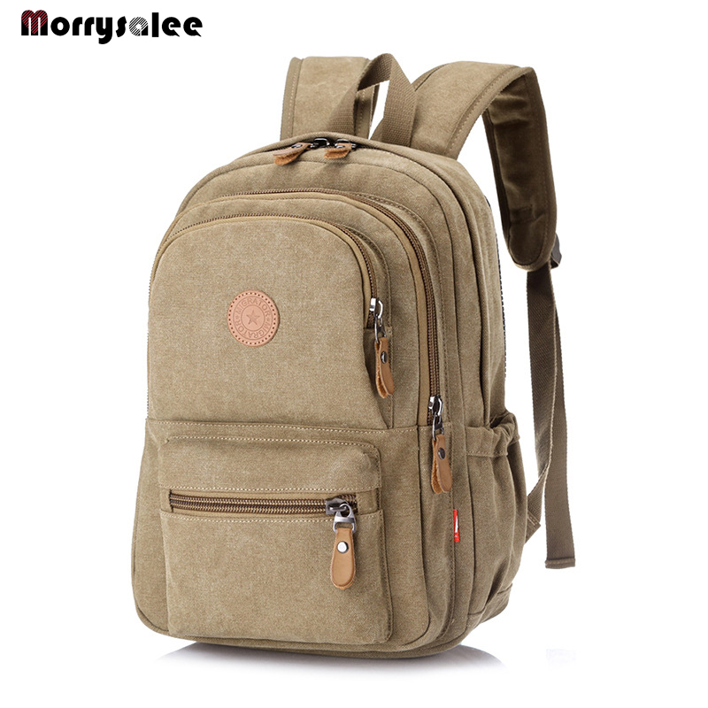 2019 New Fashion Vintage Man's Canvas Backpack Travel Men's Bag Men Large Capacity For College Students New Trend