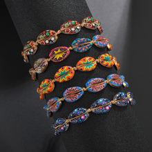 Женские браслеты из натуральной ракушки Гавайские в богемном