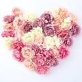 Искусственные цветы 50 шт./лот, 5 см, шелковая головка розы для свадебвечерние НКИ, домашнего сада, украшения «сделай сам», Подарочная коробка,...